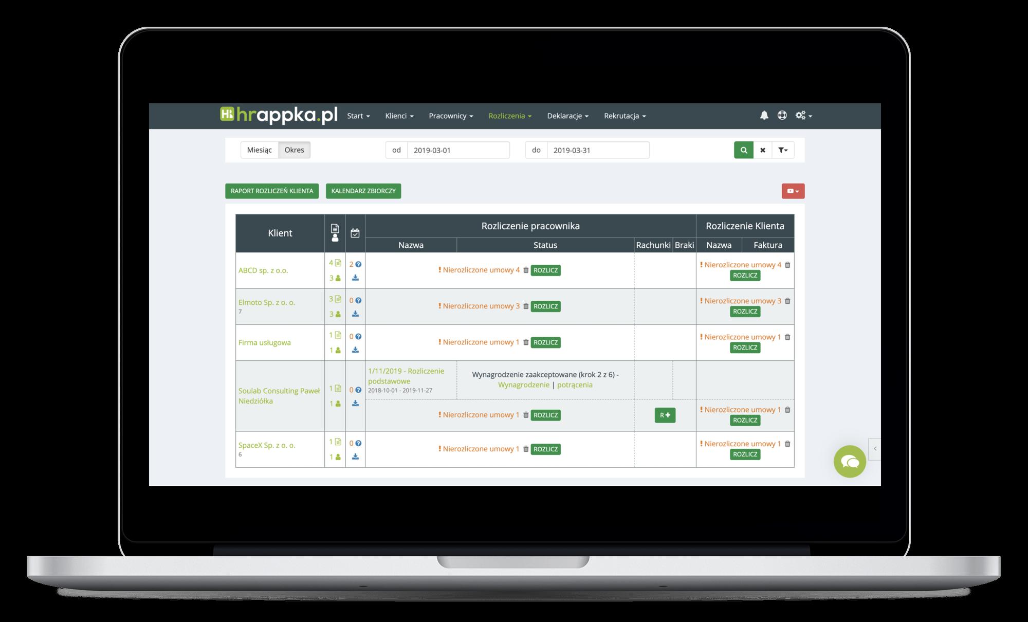 system HR HRappka.pl