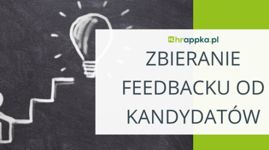 Zbieranie feedbacku od kandydatów