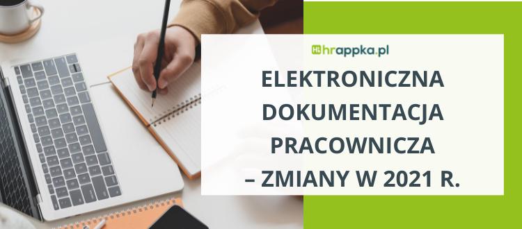 Elektroniczna dokumentacja pracownicza
