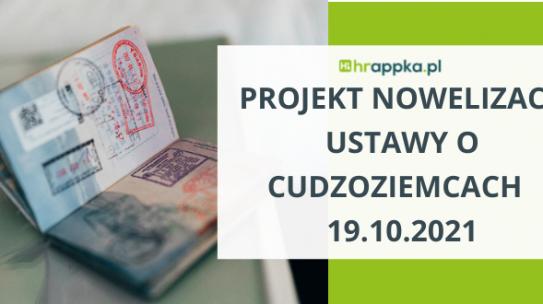 Projekt nowelizacji ustawy o cudzoziemcach – legalizacja pobytu w Polsce