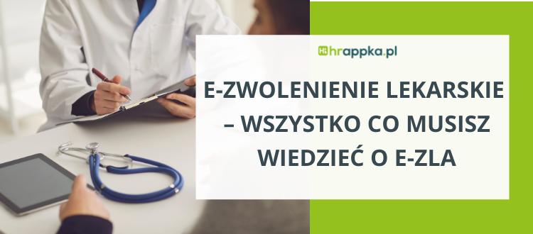 e-zwolnienie lekarskie